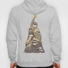 Christmas Tree  Sloths Hoody