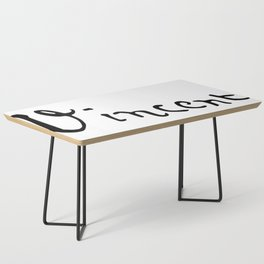 Vincent's signature Coffee Table