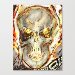 Ghost Rider The Spirit of Vengence Canvas Print