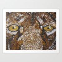 Lionize Art Print