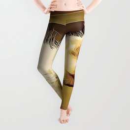 Life Is So Exhausting, I think I'll Just Have A Little Nap Leggings