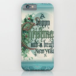 Frosted Greetings iPhone Case
