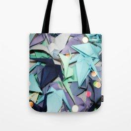 Senbazuru | shades of blue Tote Bag