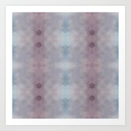 """Chocolate milkshake"" kaleidoscopic design Art Print"