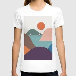 Cat Landscape 12 T-shirt
