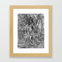 Devourer of Angels Framed Art Print