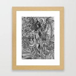 Devourer of Angels Framed Art Print