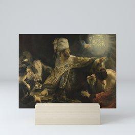 Belshazzar's Feast Mini Art Print