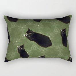 Cat photo pattern Rectangular Pillow