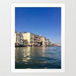 Venetian Waters Art Print