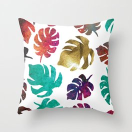 Kiss of Gold, cool calming colors to  change any mood. Throw Pillow