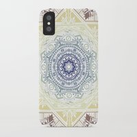 henna iPhone & iPod Cases featuring Mandala Henna by Liz Slome