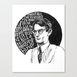 Atticus Finch Canvas Print