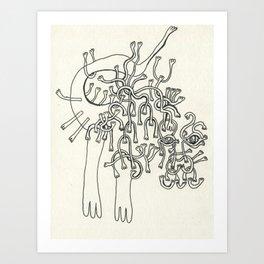 All Hands Art Print