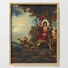 """Gustave Moreau """"Le triomphe de Bacchus"""" Serving Tray"""