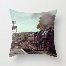 Severn Valley Token Throw Pillow