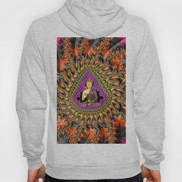 Buddha Mandelbrot Set Hoody