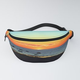 Traditional Seaside Sunset Fanny Pack
