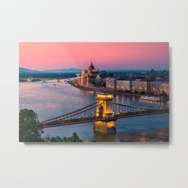 BUDAPEST 02 Metal Print