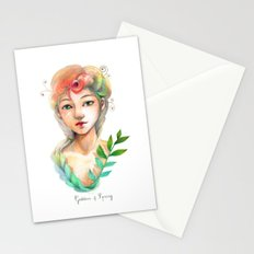 Goddess of  Spring Stationery Cards