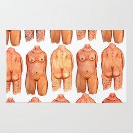 naked bodys Rug