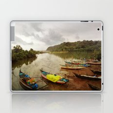 Fishing port in Goa, India Laptop & iPad Skin