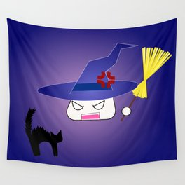 Kitty-chan messed up! Wall Tapestry