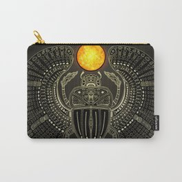Sacred Scarab (v2) Carry-All Pouch
