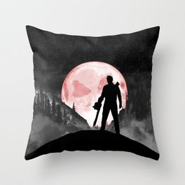 Rudeboy Ash Throw Pillow