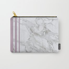 Baesic Purple Marble Carry-All Pouch