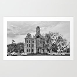 Texas Road Trip Art Print