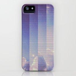 CLOUDS- Video glitch 014 iPhone Case