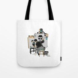 Heisenberg Self Portrait Tote Bag