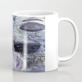 German Shepherd in Denim Colors Coffee Mug