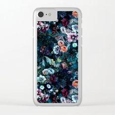Night Garden Clear iPhone Case