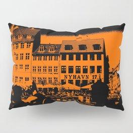 Nyhavn, Copenhagen Denmark Pillow Sham