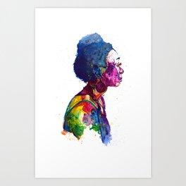 Earth Goddess Art Print