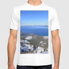 Backcountry Mens Fitted Tee White MEDIUM