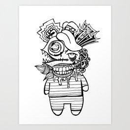 Monstrosity Art Print