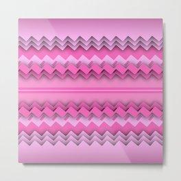 Zigzag paper dream Metal Print
