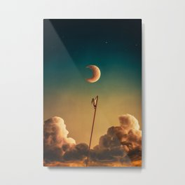 Wanderer Above the Clouds Metal Print