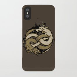 NEVERENDING FIGHT iPhone Case