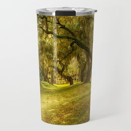 Yellow morning in Georgia Travel Mug