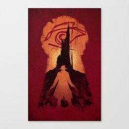 He Followed Canvas Print