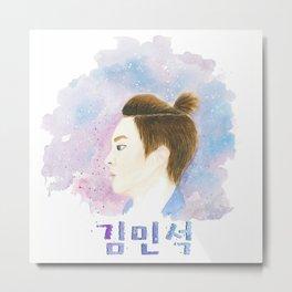Kim Minseok Metal Print