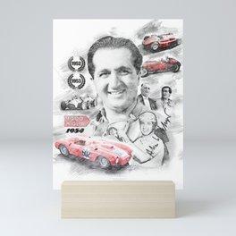 Alberto Ascari Mini Art Print