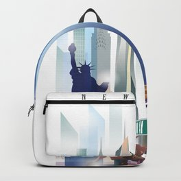 New York City Skyline Backpack