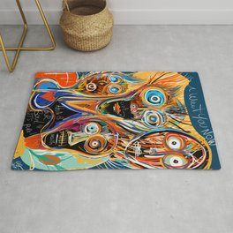 This is our soul Street Art Graffiti Rug