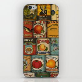Canned in the USA iPhone Skin