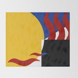 The moonlight artist Ozo Throw Blanket
